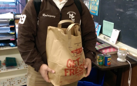 Food Drive serves to make a Happy Thanksgiving