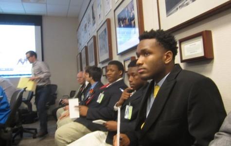 Tribune field trip enlightens journalism students