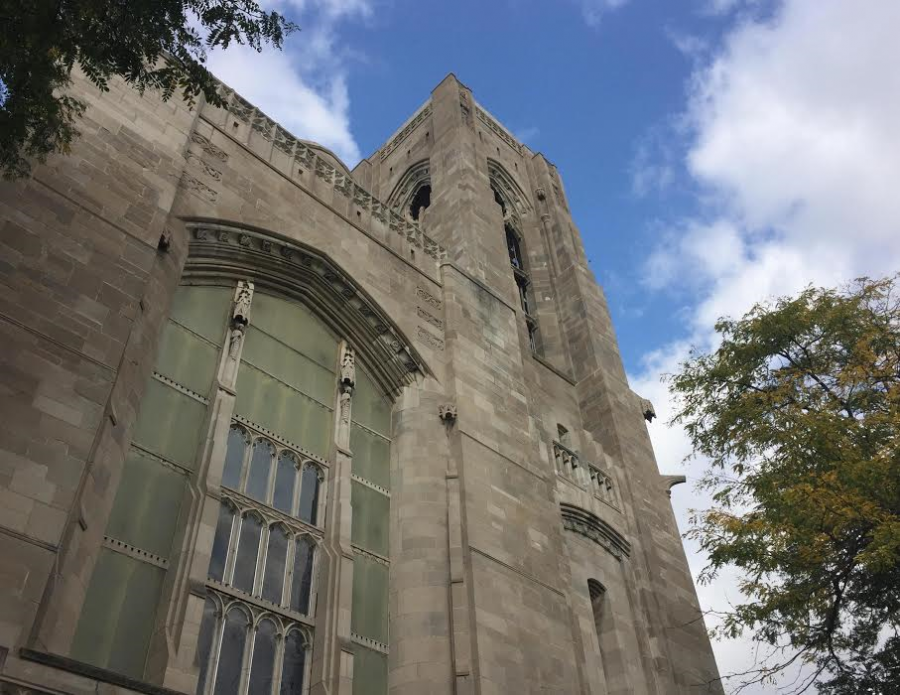 First+Presbyterian+Church+of+Chicago%2C+located+two+blocks+west+of+Mount+Carmel%2C+has+an+historical+connection+to+Fort+Dearborn.