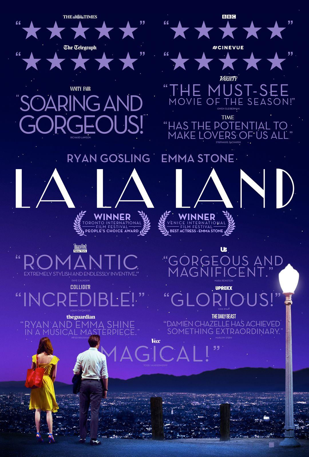 La La Land was a great movie...if you're looking to take a good nap. (Image courtesy of http://www.lalaland.movie)