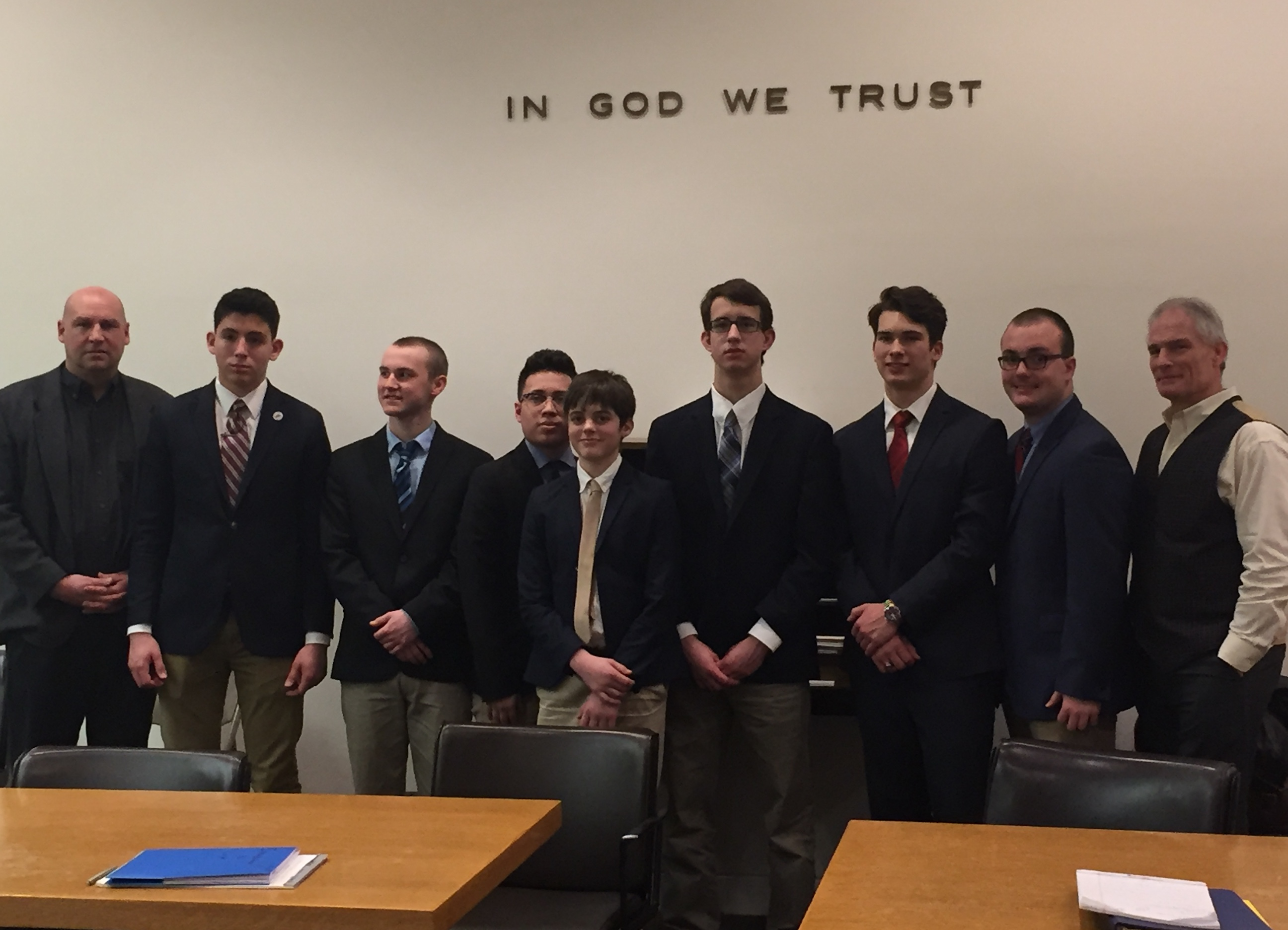 The 2016-17 Mock Trial team competed in the Howlett Cup last weekend.