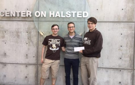 MCGSA donates $500 to Center on Halsted