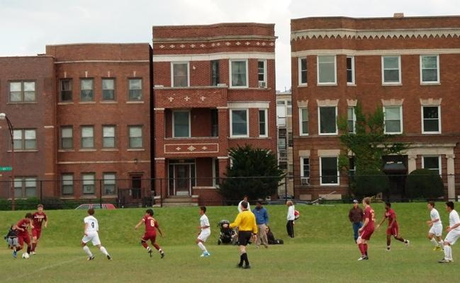 MC+soccer+plays+its+home+games+on+Haggerty+Field+on+the+campus+of+Mount+Carmel.