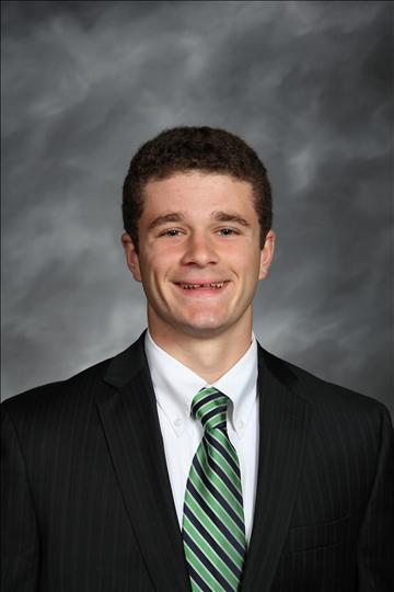 Sophmore Justin Fekete placed in state at the IHSA Speech finals, becoming the first ever MC student to do so.
