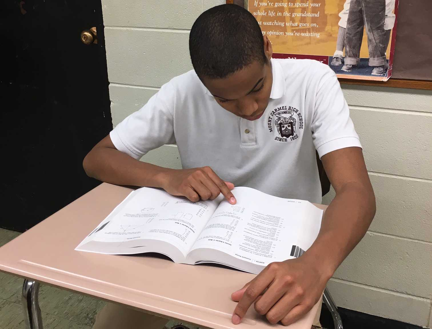 Zion Mallette '17 feels the requirement of 4 yeas of high school math is excessive.