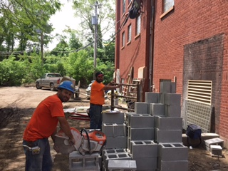 Construction in the courtyard: what's going on?