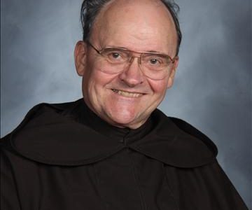 Fr. Leopold brings his Carmelite passion back to MC
