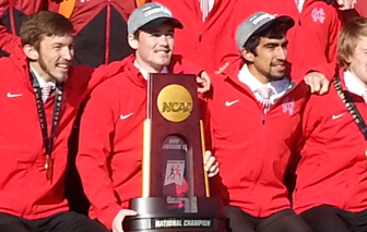 Dan O'Keefe (MC '14) was part of North Central College's 17th Division  III cross- country title.