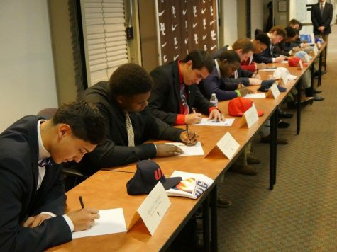 11 student-athletes sign to play college ball