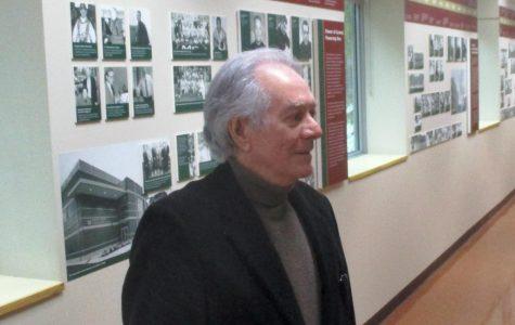 Esteemed editor Bernard Judge visits Carmel