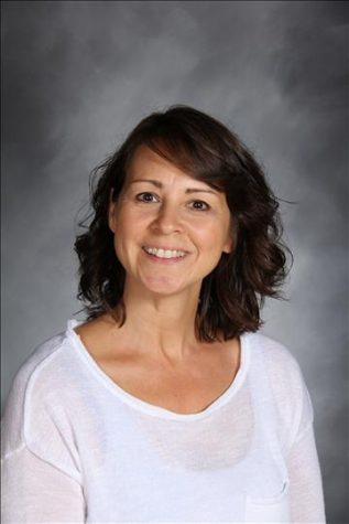 Mrs. Julie Chappetto teaches Painting and Drawing as well as several other art classes, and is Co-Moderator of the yearbook.