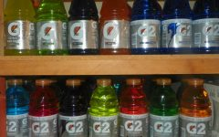 Blue cherry best of Gatorades