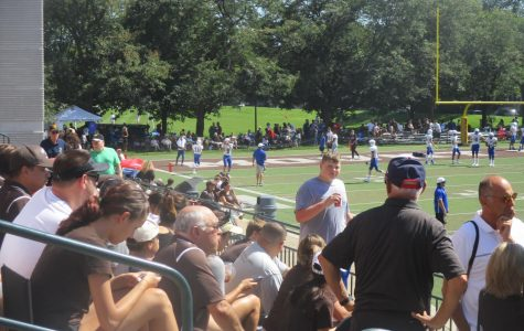 Temporary bleachers could lead to new era for MC sports