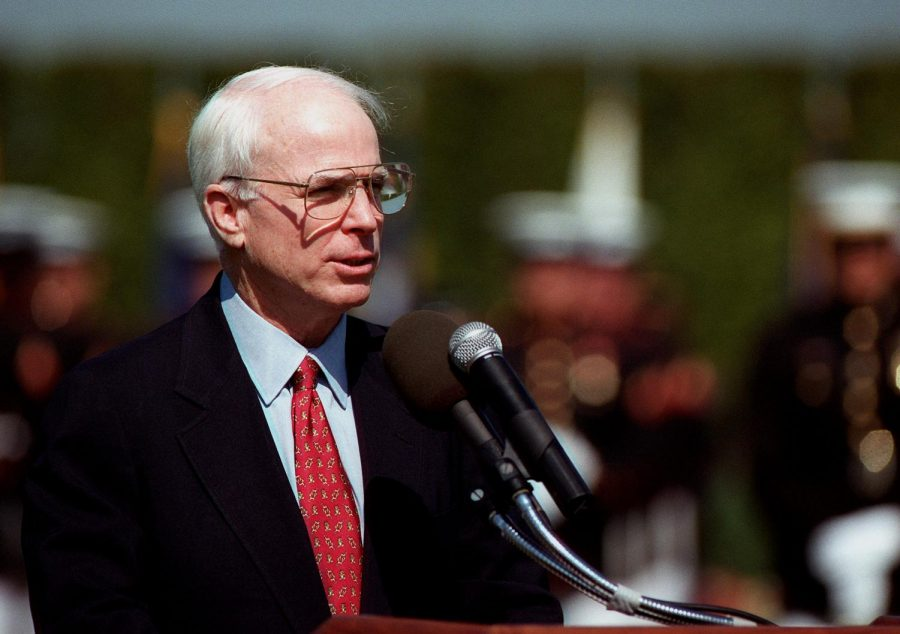 McCain leaves legacy for MC students to follow