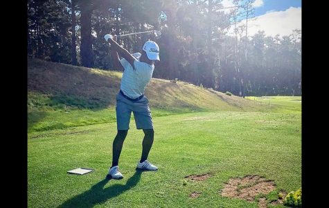 Golf dreams of Abdel Raoul '19