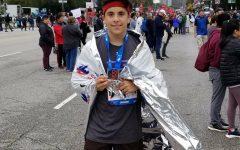 Sanchez '19 fulfills marathon dream