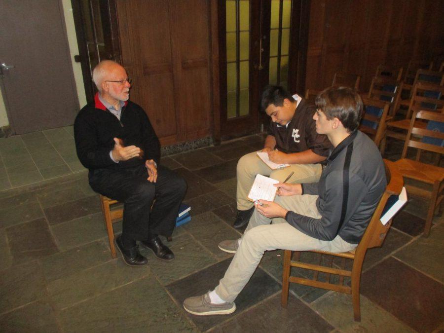 Pastor David Boumgarden speaks to Matt Martinez and Miles Hoey about First Presbyterian Church.