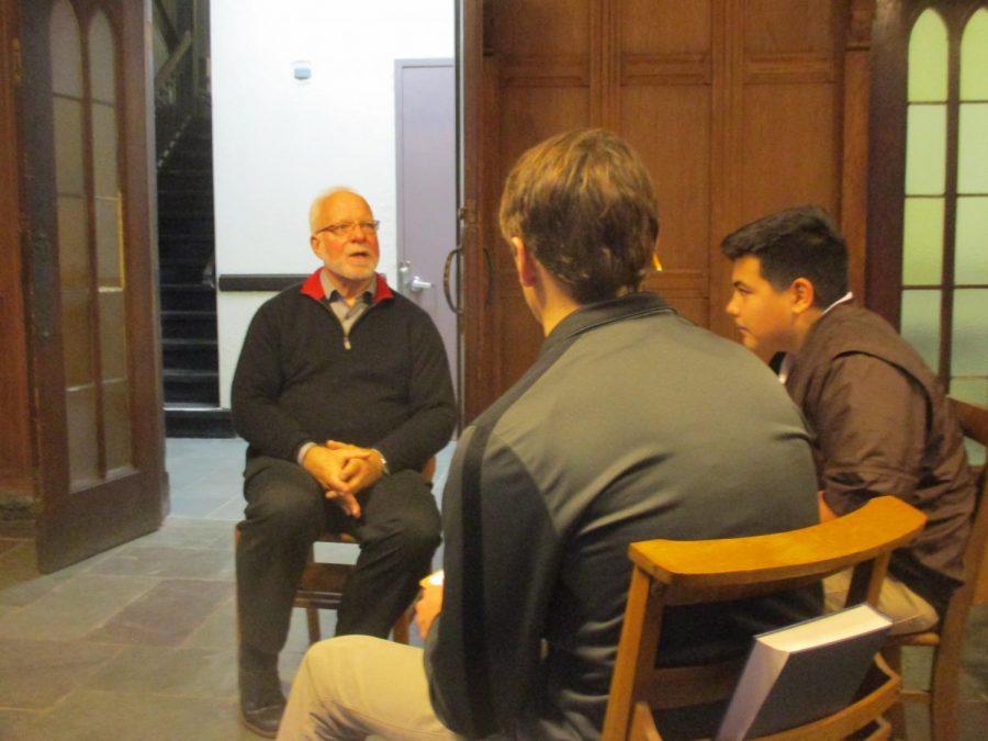 Pastor David Boumgarden speaks to Miles Hoey and Matt Martinez about First Presbyterian Church.