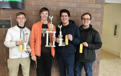 Hall, Sanchez lead Caravan to 4th place in math contest