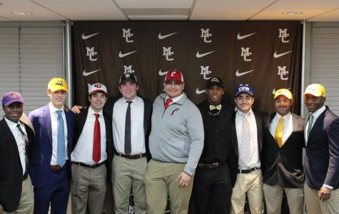 In signing, student-athletes look back with gratitude; ahead with excitement
