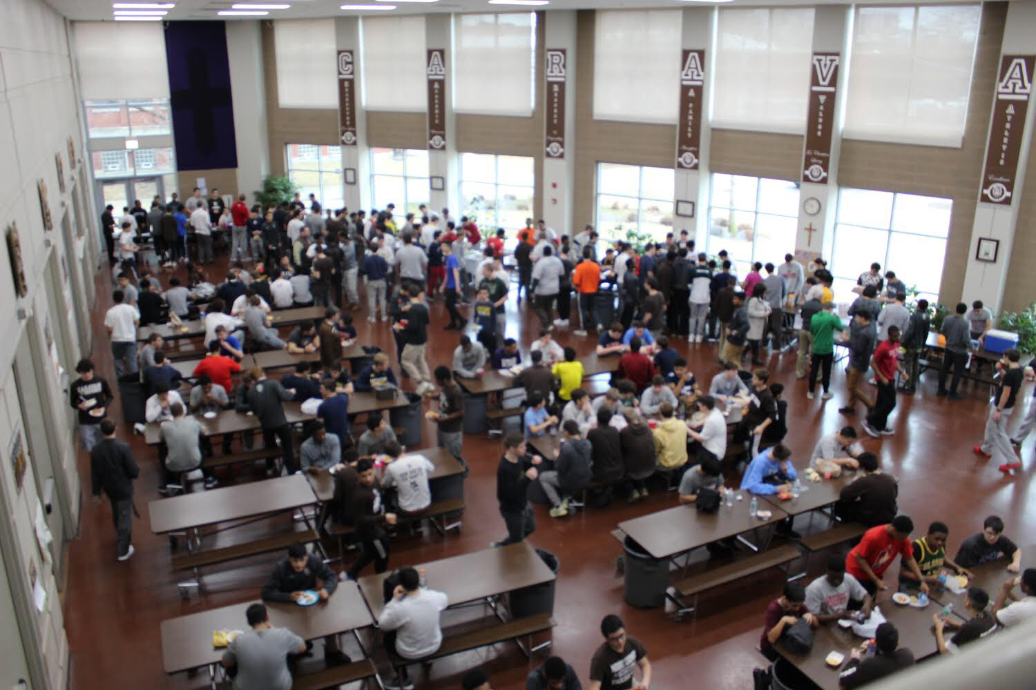 The Commons was packed for the Taste of MC
