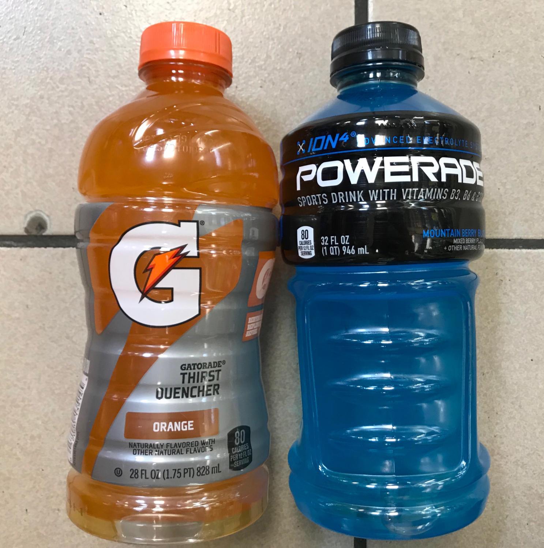 Original Thirst Quencher Gatorade vs Original Powerade