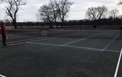 MC tennis prepares for season