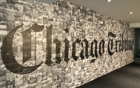 MC Caravan staff visits Chicago Tribune