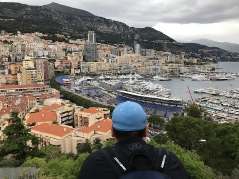 One of the stops on the Spring break trip was in the wealthy country of Monaco. (Photo credit:  Sergio Mendieta)