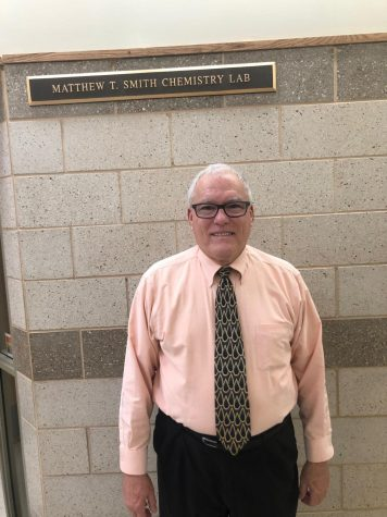 Mr. Kenneth Strouse, a new member of the faculty, will be teaching chemistry to sophomores.