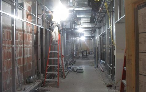 MC's first floor renovation in progress