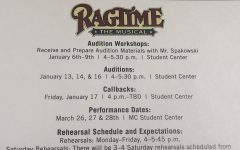 Ragtime audition workshops begin this week.