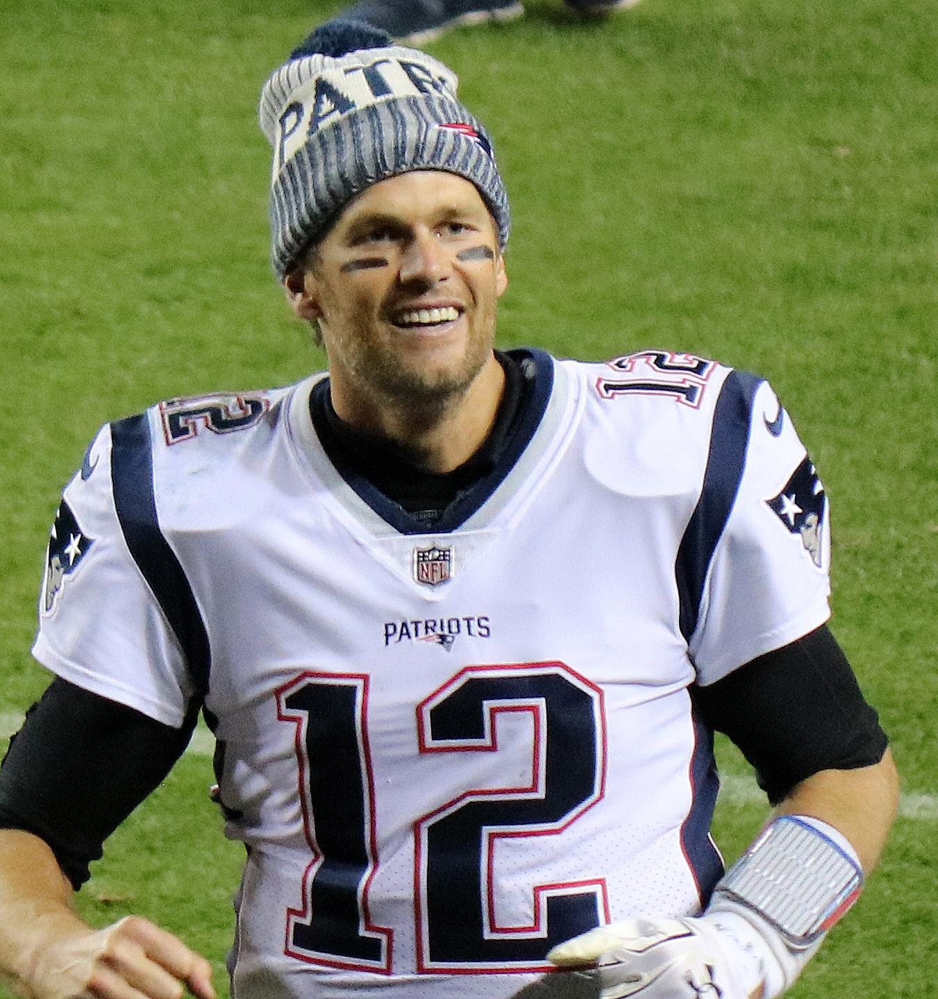Tom Brady, national football league quarterback (photo credit: Jeffrey Beall via Wikimedia Commons under Creative Commons license)