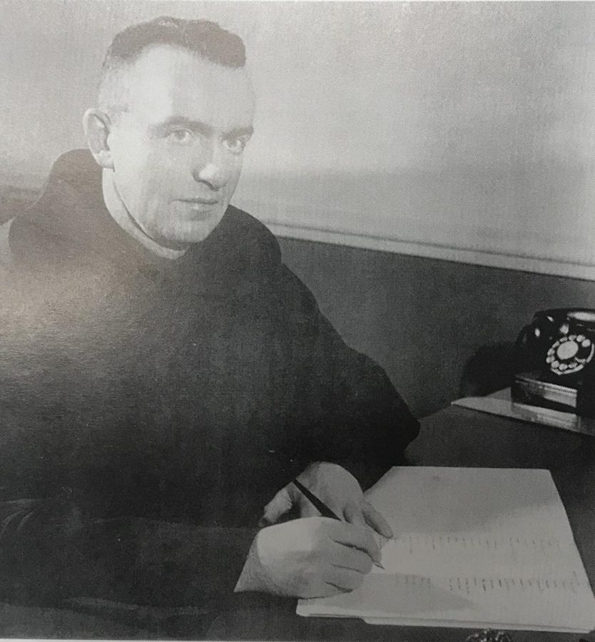 Fr. David Murphy was principal of Mount Carmel from 1954 to 1961.  (photo taken from Shoulder to Shoulder:  The Centennial History of Mount Carmel High School)