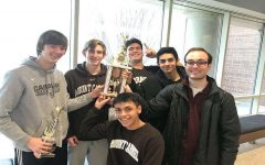 MC's Math Team participated in the Chicago Math Contest with Jon Weber placing 6th. Left to Right ( Jon Weber, Brian Sullivan, Eric Ramirez, Cesar Sanchez, Sebastian Manrique, and Blake Lopez). (Not pictured: Kieran Conjar and Kolton Hall).