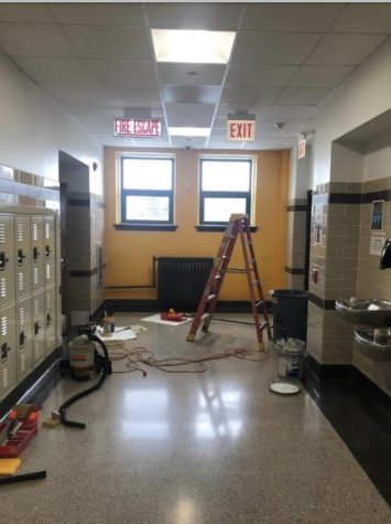 "Mr.Perez and Mr.Byers maintenance and disinfection of the school property is ongoing during the "" Stay at Home"" order."
