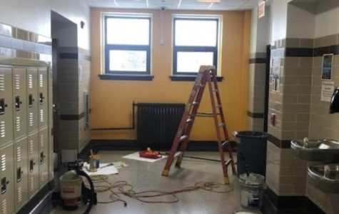 Mr.Perez and Mr.Byers maintenance and disinfection of the school property is ongoing during the