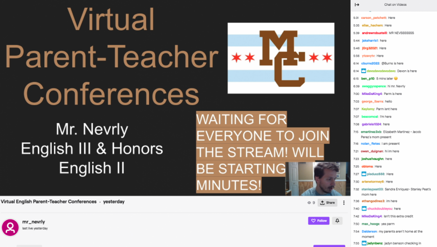 Mr.+Neverly+using+a+Twitch+stream+yesterday+to+host+a+%22virtual+parent-teacher+conference%22+to+talk+to+students+and+their+parents+about+expectations+for+the+rest+of+the+year.