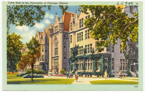 Cobb Hall, at the University of Chicago, represents the ideal future many seniors seek.  (Photo credit:  Wikimedia Commons via Creative Commons license.)