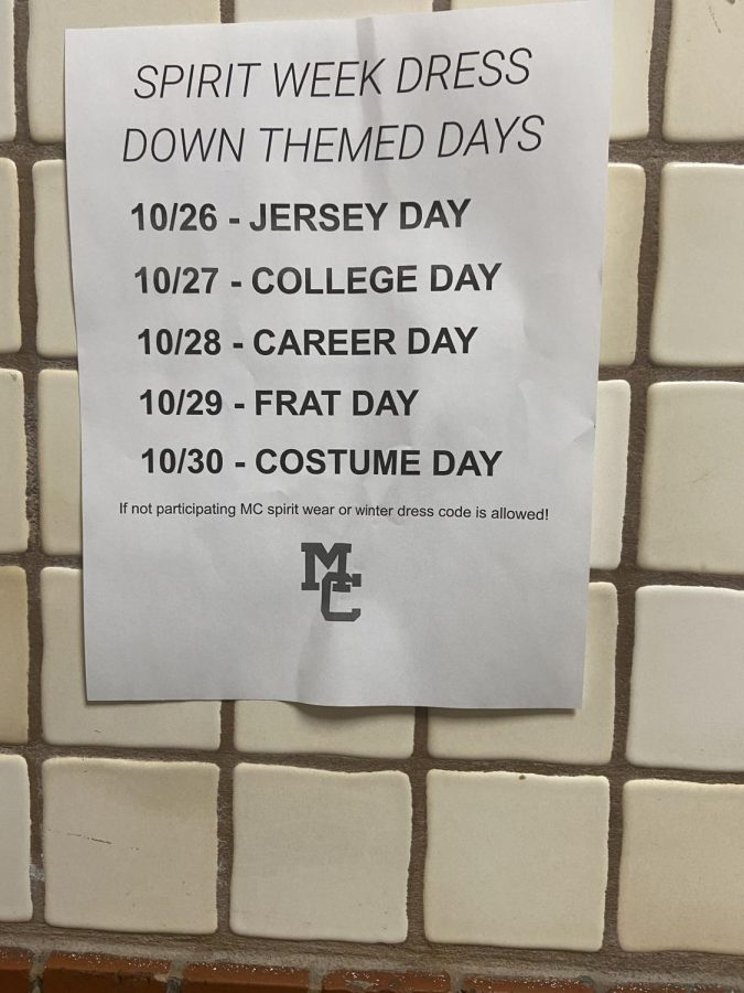 This year's Spirit Week was cut short due to COVID-19.