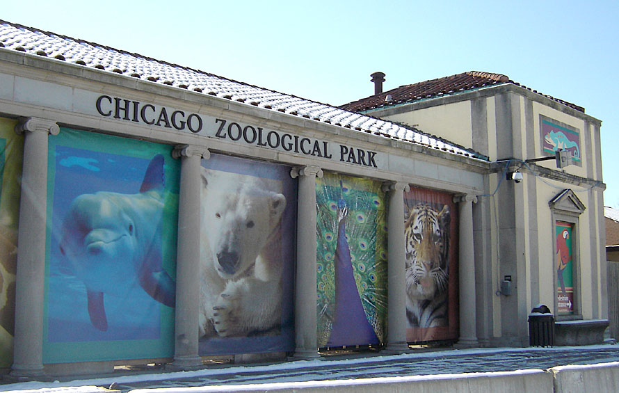 The Brookfield Zoo has been a staple of Chicagoland since 1934.  (Photo credit:  Derek Tyler via Wikimedia Commons under Creative Commons License)