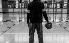 Varsity basketball player Grant Mason awaits the season.