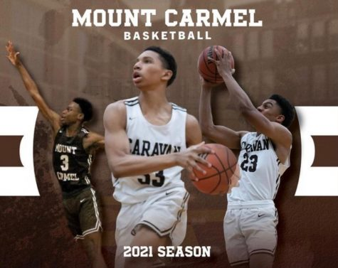 The 2020-21 Mount Carmel basketball team ended its short season on a winning note.