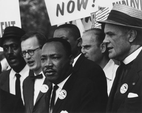 Dr. Martin Luther King Jr. is one of many whose contributions to American society are celebrated during Black History month. (Photo credit:  Robert Sherman/U.S. National Archives via Wikimedia Commons under Creative Commons license.