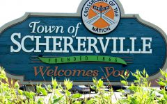 Schererville, Indiana, is just 50 minutes from Chicago, but it's a whole different world  (Photo credit: Joey BLS via Wikimedia Commons under Creative Commons license.)