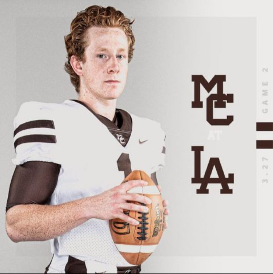 Captain+and+starting+quarterback+Justin+Lynch+will+lead+the+Caravan+at+Loyola+on+Saturday+at+1%3A30+p.m.%2C+but+will+do+so+before+a+limited+crowd.