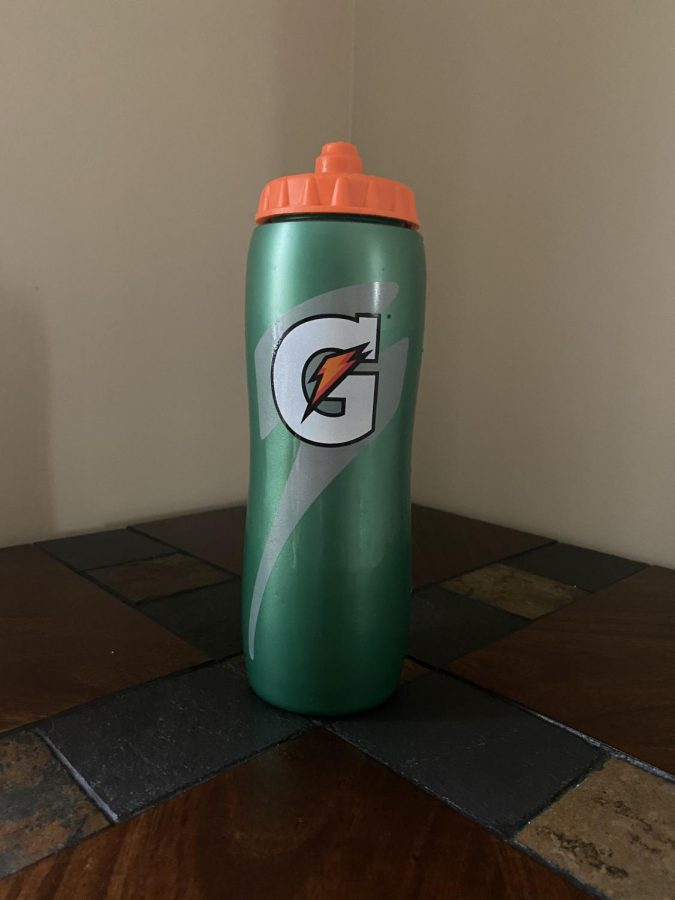 The Gatorade squeeze bottle is the best on the market.
