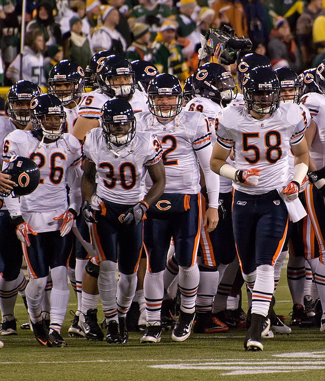 The Chicago Bears recent draft of Justin Fields restored some hope in their fans, but the team has many other needs to fill.  (Photo credit via Wikimedia Commons under Creative Commons license.)