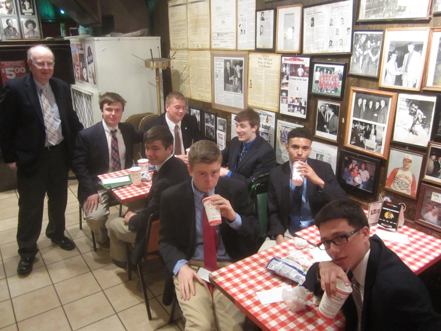 The Billy Goat Tavern was always on the tour when we visited the Tribune.