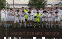 Your 2021 Catholic League champion Caravan soccer team is all smiles after the big win.